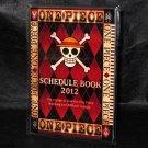 One Piece 2012 Schedule Diary Book ANIME MANGA JAPAN NEW