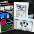 NAGASAKI CITY AREA TRAVEL MAP JAPANESE AND ENGLISH NEW