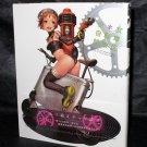 JAPAN Anime Manga Girl Bicycle Life with Kawaii Girls Character Art Book NEW