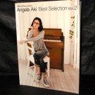 Angela Aki Best Sellection Vol.2 Japan Soundtrack Piano Music Score Book NEW