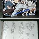 ZOMBIE LOAN JAPAN TV ANIME MANGA ART SKETCH BOOK NEW