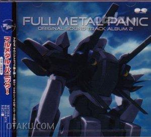 FULL METAL PANIC Japan ANIME MUSIC CD OST Original Soundtrack 2 NEW