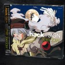 .hack//SIGN Openning Theme Obsession Ending Theme Japan Anime Music CD NEW