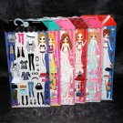 Hello Kamio Japan Paper Doll Puffy Seal Japanese Cute Girl Stickers Set of 6 NEW