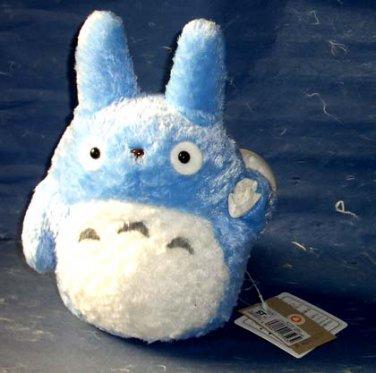 Totoro Plush Blue Japan Anime Fluffy Version TOY GENUINE VERSION NEW