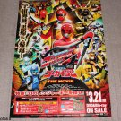 Tokumei Sentai Go-Busters Super Sentai Japan Original Large Poster ☆ NEW ☆