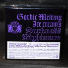 Tommy February6 Gothic Melting Ice Cream's Darkness CD and DVD Japan NEW