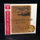 ZZ Top Rio Grande Mud Japan SHM-CD Mini LP Album Limited Edition NEW