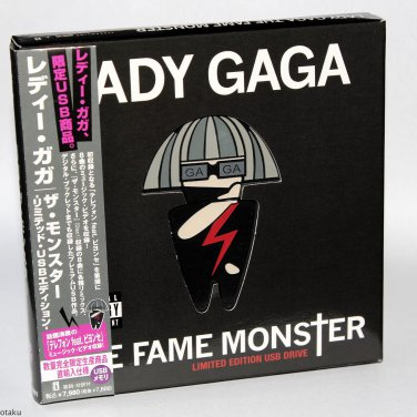Lady Gaga The Fame Monster Album Japan Original USB Limited Edition Complete