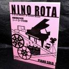 Nino Rota Piano Music Score Great Master of Screen Music Sheet Music Book NEW