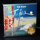 ZZ Top Tejas Japan SHM-CD Mini LP Album Limited Edition Cardboard Sleeve NEW