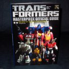 Transformers Masterpiece Official Guide Japan Photo Model Figure Book NEW