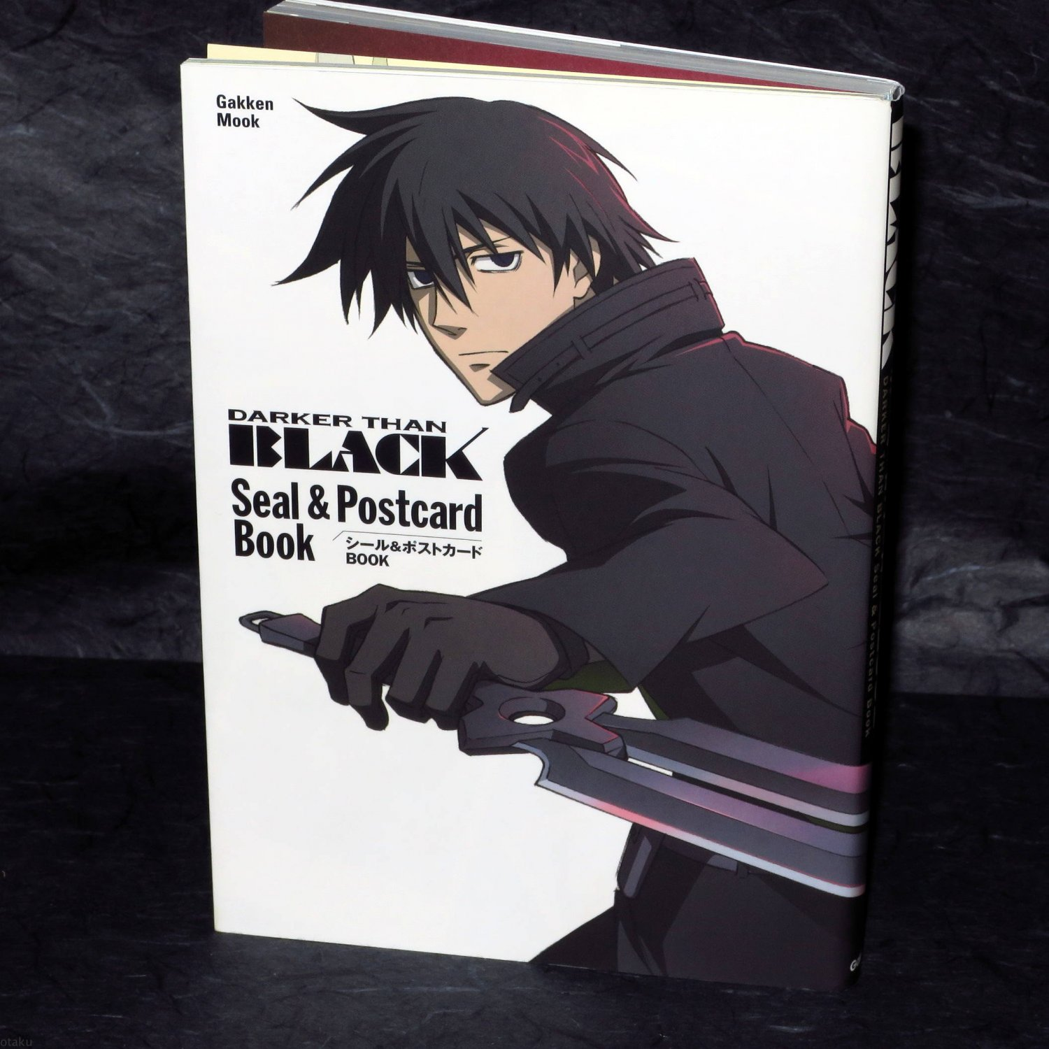 Darker than Black Seal and Postcard Book Japan Anime Art Book