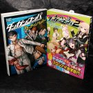 Super Danganronpa 1 and 2 Manga Set Japan Anime Game Comic 2 Books NEW