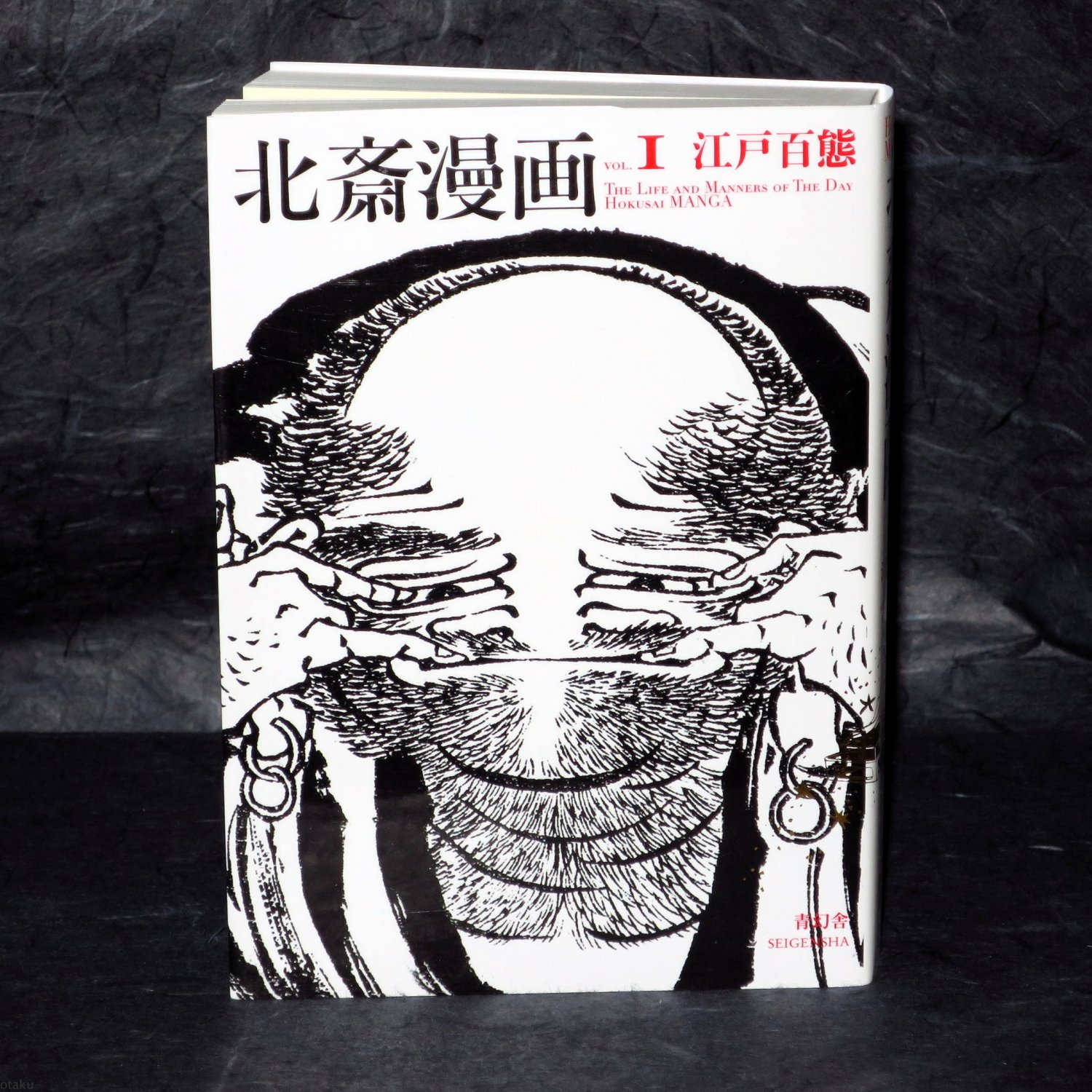 Hokusai Manga Vol 1 The Life and Manners of the Day Japan Art Book NEW