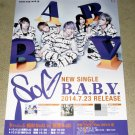 SuG B.A.B.Y. Japan Large Poster NEW