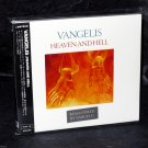 Vangelis Heaven And Hell 1st Solo Album Remastered Japan Edition CD NEW
