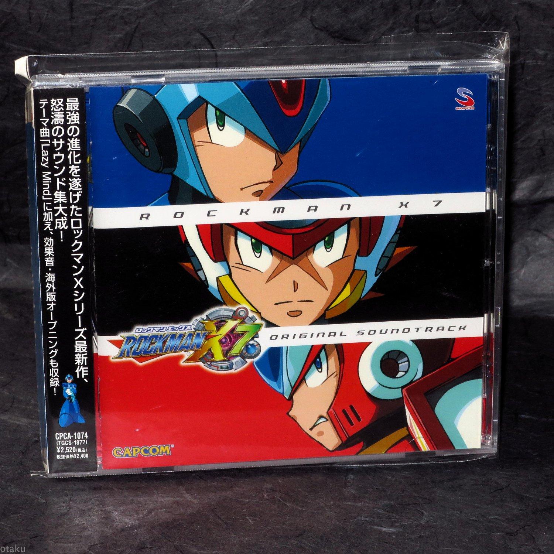 Mega Man Rockman X7 Original Soundtrack Japan Capcom Game Music CD