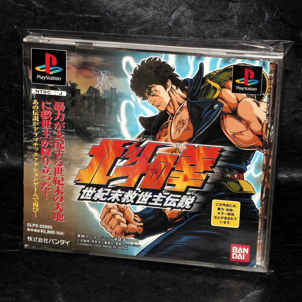 Hokuto No Ken Fist Of The North Star PS1 Japan Action Fight Game