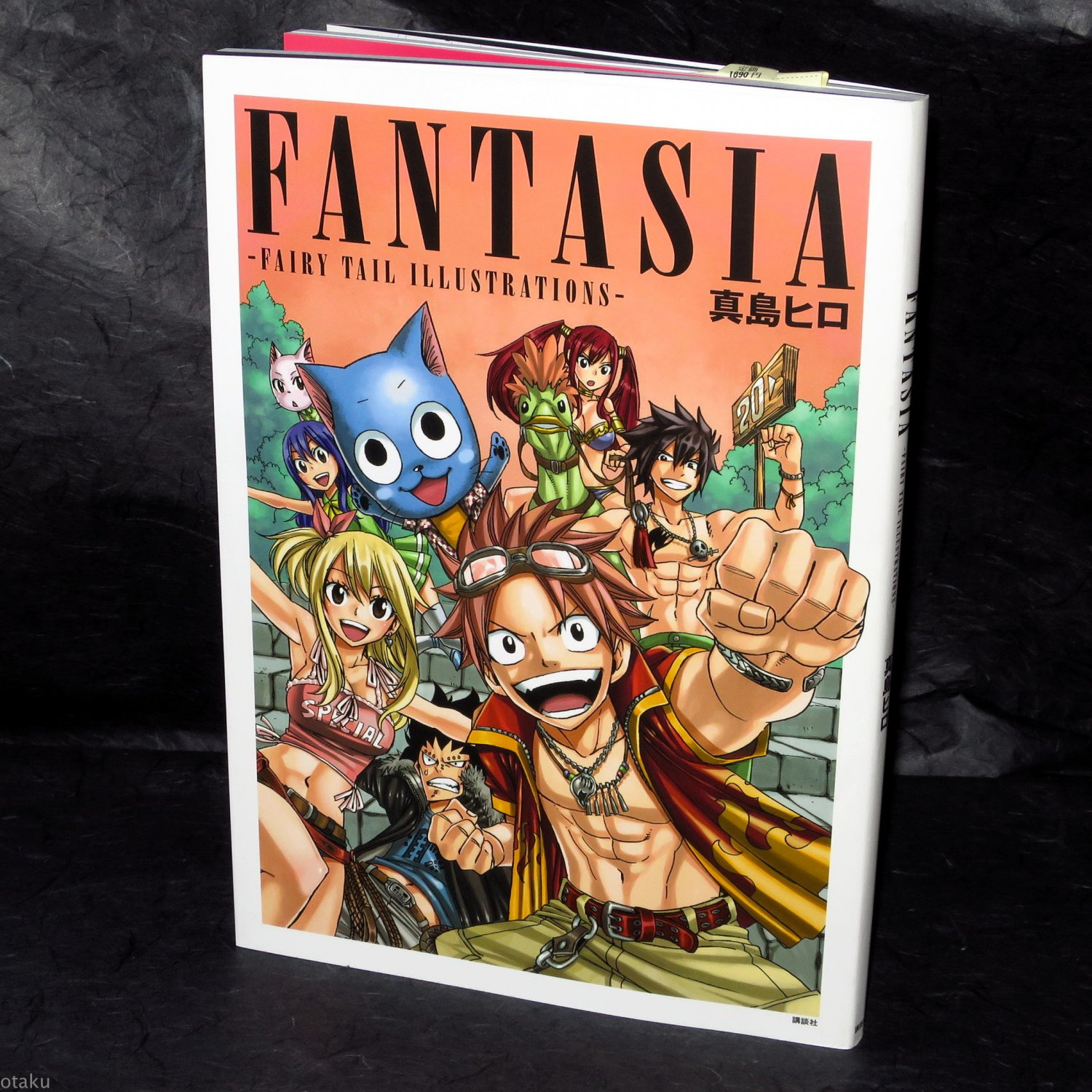 Mashima Hiro Fairy Tail Illustrations Art Book Fantasia Japan Anime Manga