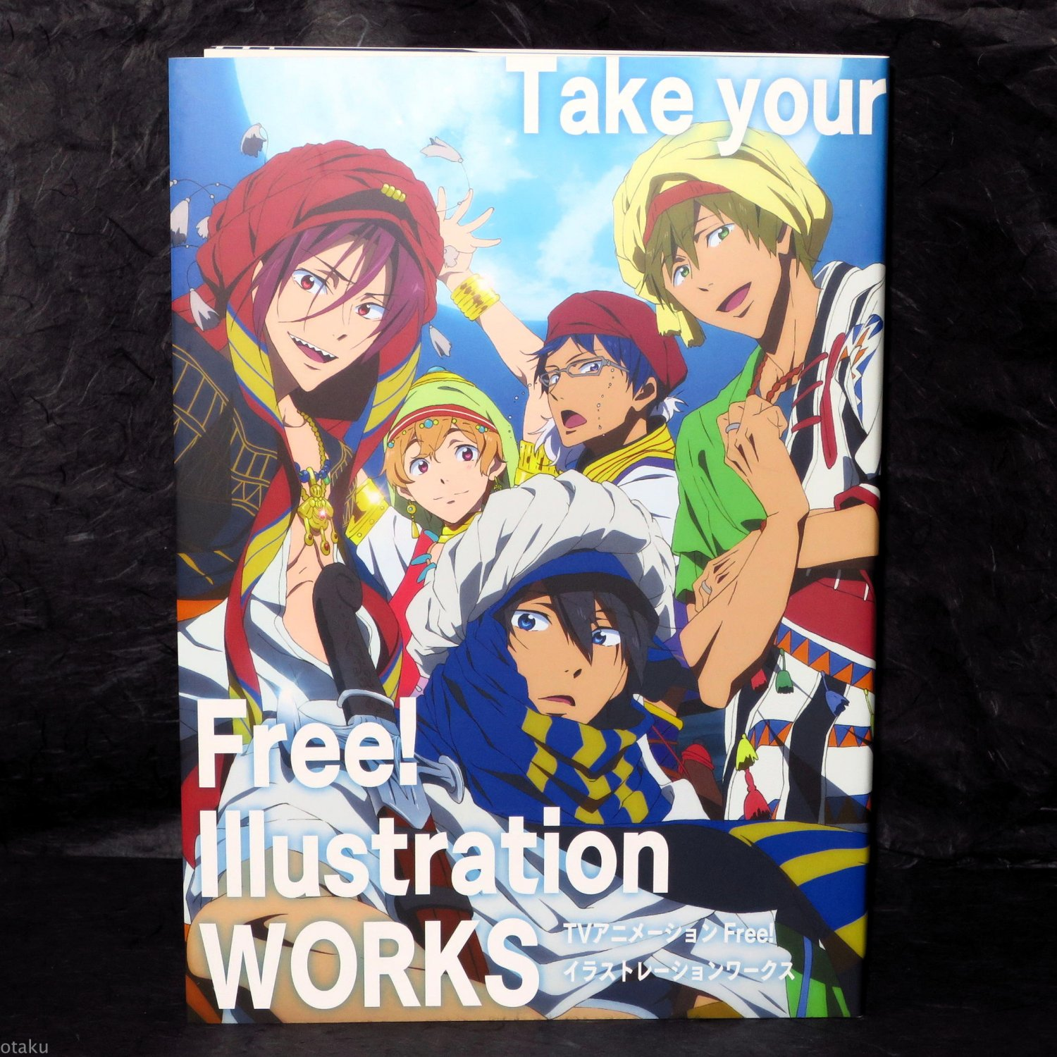 Free Illustration Works Japan Anime Art Book and Drama CD