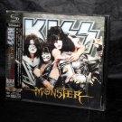 Kiss Monster Japan SHM-CD Music CD Bonus Track 3D Cover NEW