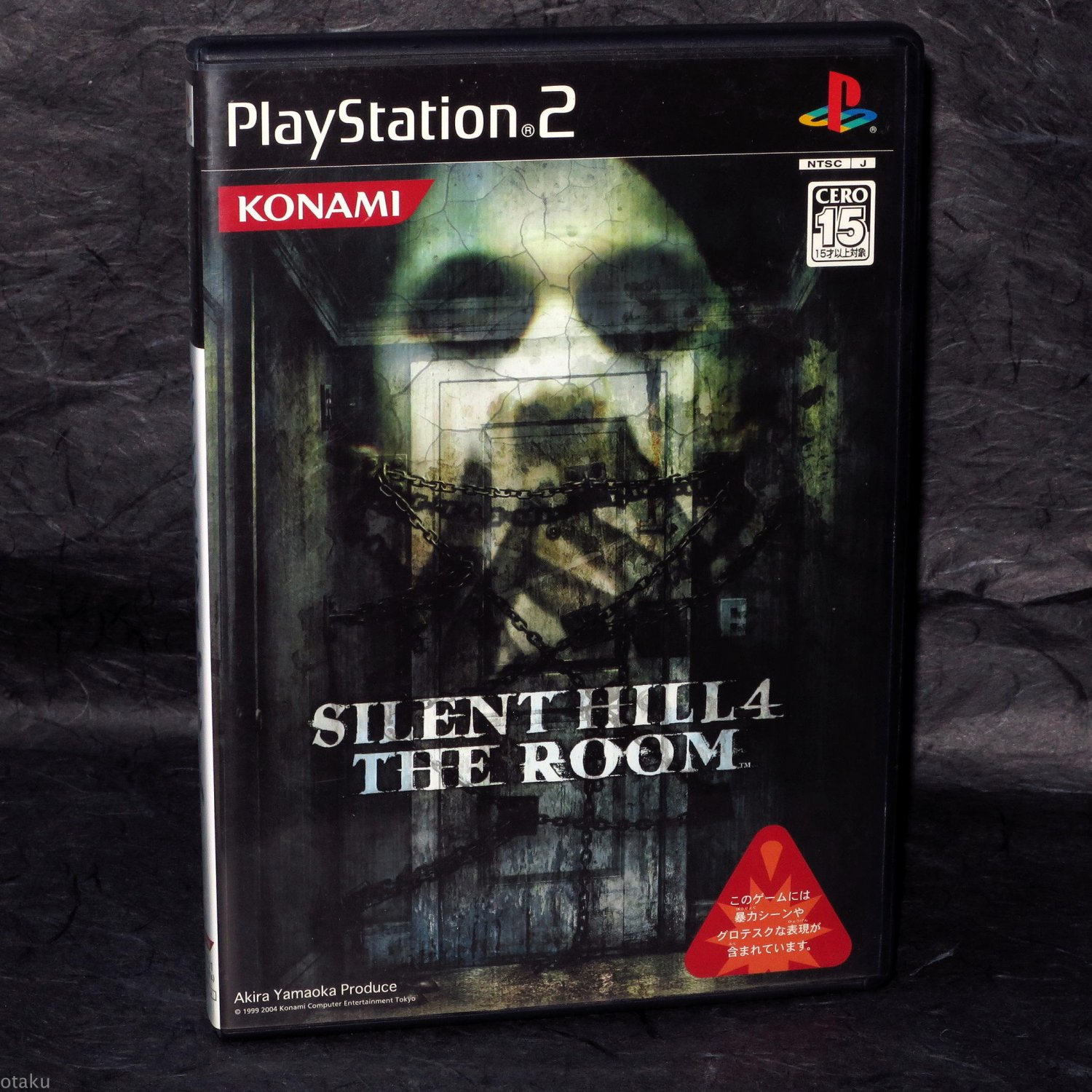 Silent Hill 4 The Room PS2 Japan Action Horror Konami Game