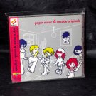 POP'N MUSIC 4 ARCADE OST GAME MUSIC CD SOUNDTRACK NEW