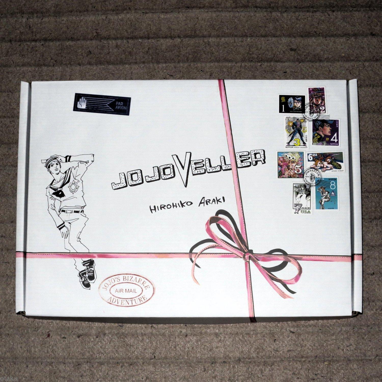 Araki Hirohiko JOJOVELLER Japan Anime Manga Art Book Box Set Stands History NEW