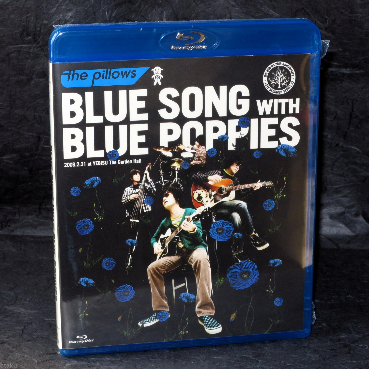 Pillows BLUE SONG WITH BLUE POPPIES Japan Guitar Rock J-Rock Blu-Ray Video NEW
