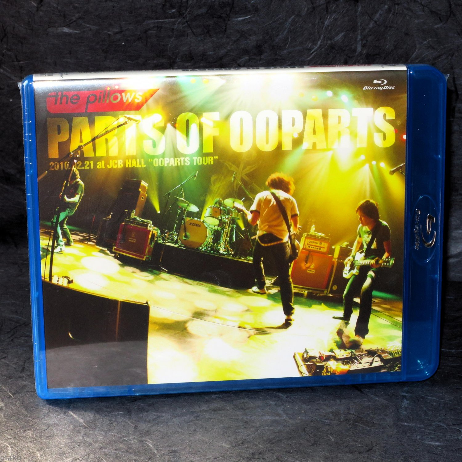 Pillows PARTS OF OOPARTS Japan Guitar Rock J-Rock Blu-Ray Live Video NEW