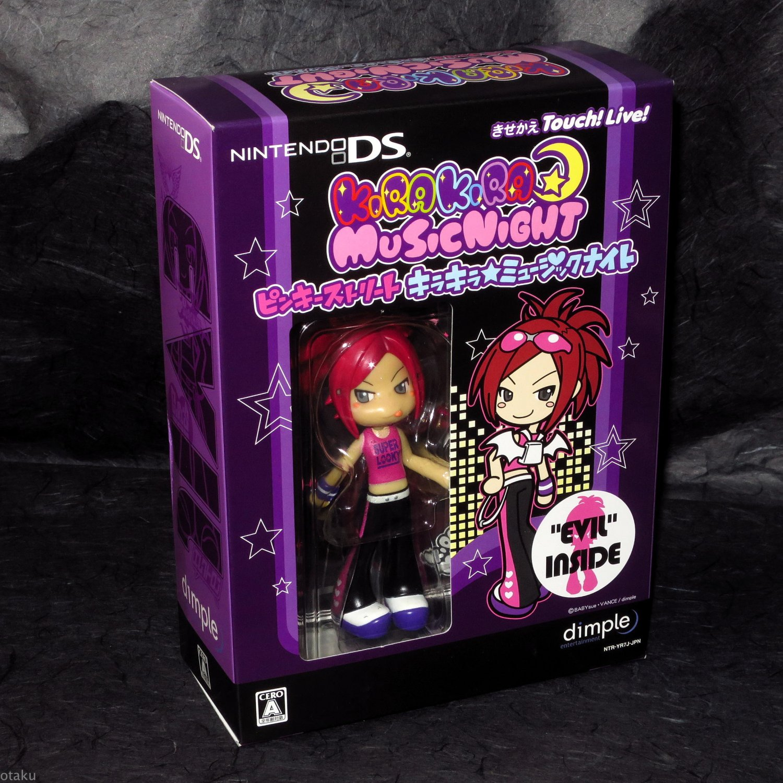 Kira Kira Pop Princess DS JAPAN GAME Pinky St with EVIL Figure NEW