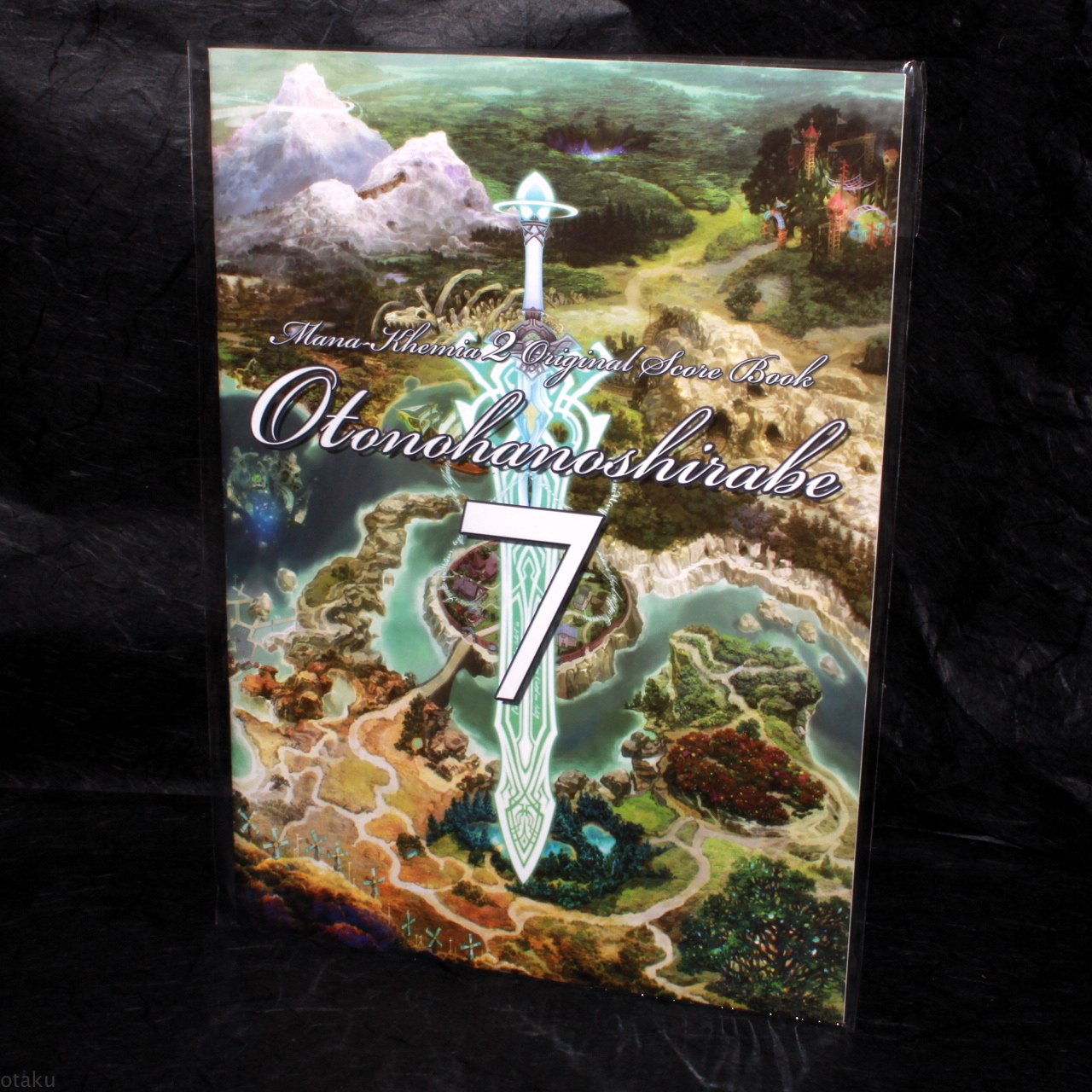 Mana Khemia 2 Fall of Alchemy PS2 Original Band Score Japan Game Music Book