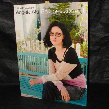 Angela Aki Best Selection Vol.1 Japan Soundtrack Piano Music Score Book NEW