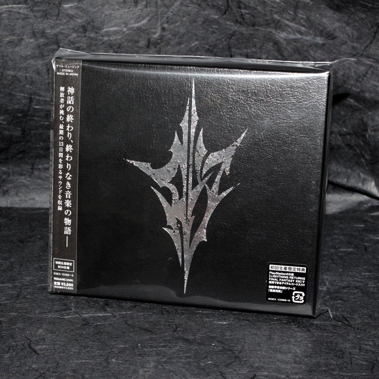 LIGHTNING RETURNS FINAL FANTASY XIII Original Soundtrack 4 CD Box Set NEW