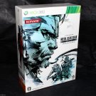 Metal Gear Solid Peace Walker HD Edition XBOX 360 Premium Package Japan Game