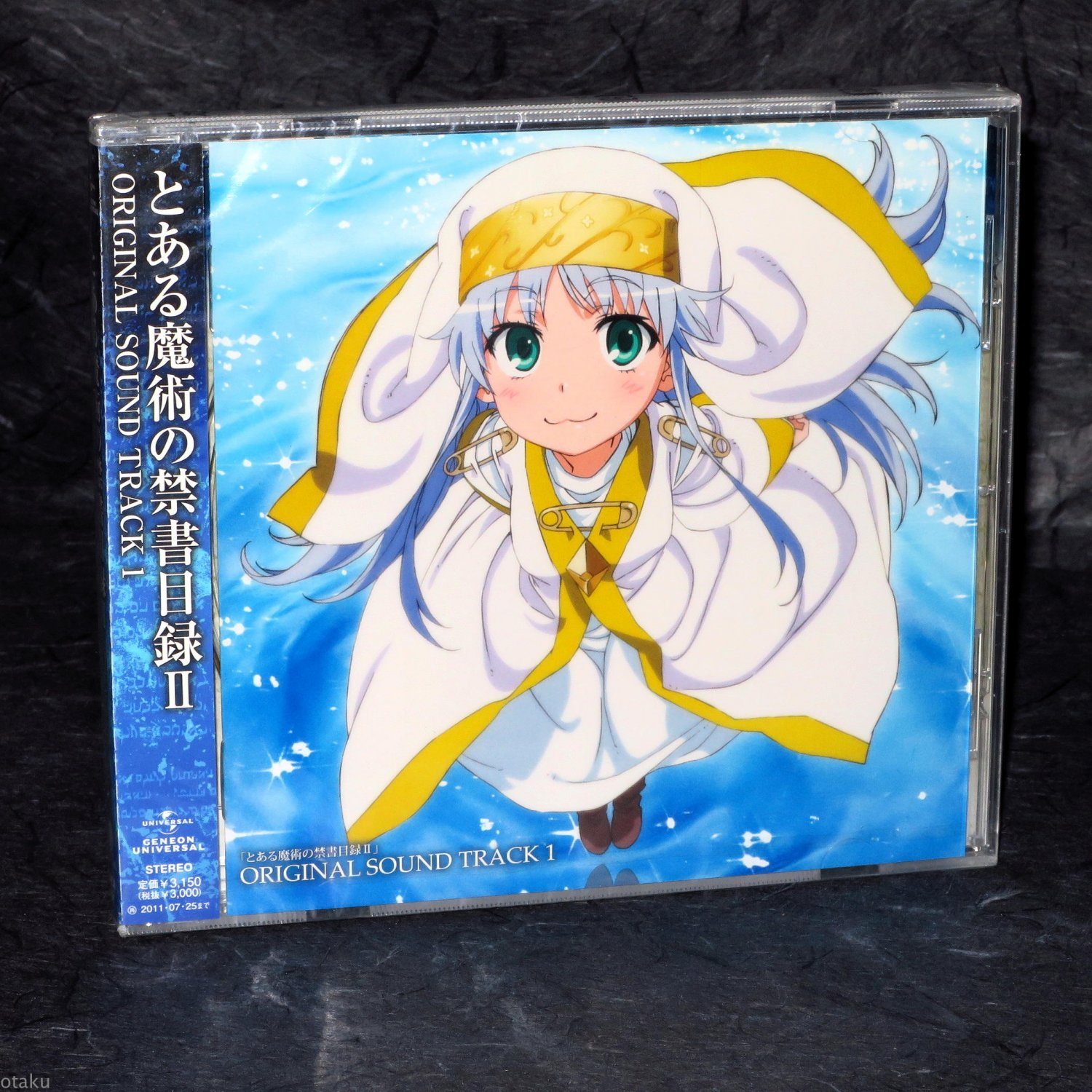 Toaru Majutsu no Index II ORIGINAL SOUND TRACK 1 OST Japan Anime Music CD NEW