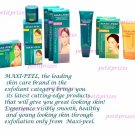 Maxipeel Exfoliant Cream with Sunblock