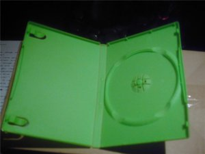 green xbox/360 replacement game cases