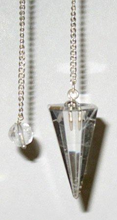 6 Sided Quartz Pendulum Divination Wiccan