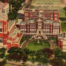 Loyola University in New Orleans Louisiana LA, Linen Postcard - 3487