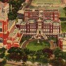 Loyola University in New Orleans Louisiana LA, Linen Postcard - 3487