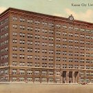 Kansas City Live Stock Exchange in Missouri MO, 1910 Vintage Postcard - 3563