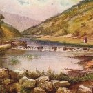 The Entrance to Dovedale UK, Raphael Tuck Vintage Postcard - 3579