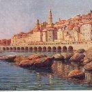 Menton La Vieille Ville in France Raphael Tuck Vintage Postcard - 3580