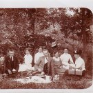 A Formal Picnic Gathering Real Photo Post Card RPPC - 3622