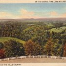 Valley View of the Ozarks in Missouri MO, 1934 Curt Teich Linen Postcard - 3679