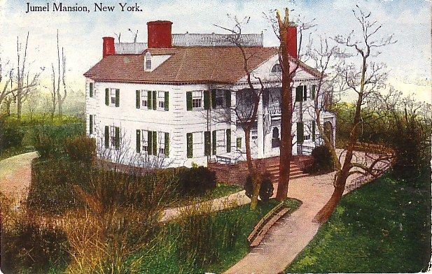 Jumel mansion in Manhattan New York NY Vintage Postcard - 3699