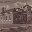 Abner Baker School in Fort Morgan Colorado CO 1919 Vintage Postcard - 3723