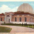 Perkins Observatory O.W.U. in Delaware Ohio OH Curt Teich Vintage Postcard - 3759